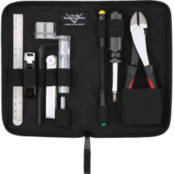 Fender Custom Shop Tool Kit par CruzTools®, Black