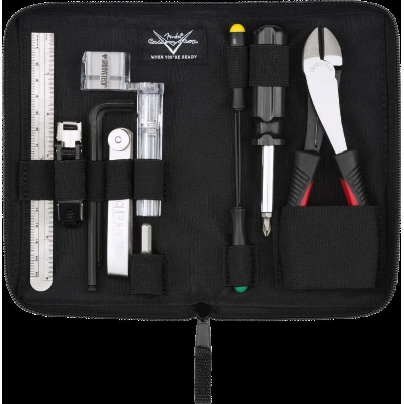 Fender Custom Shop Tool Kit par CruzTools®, Black