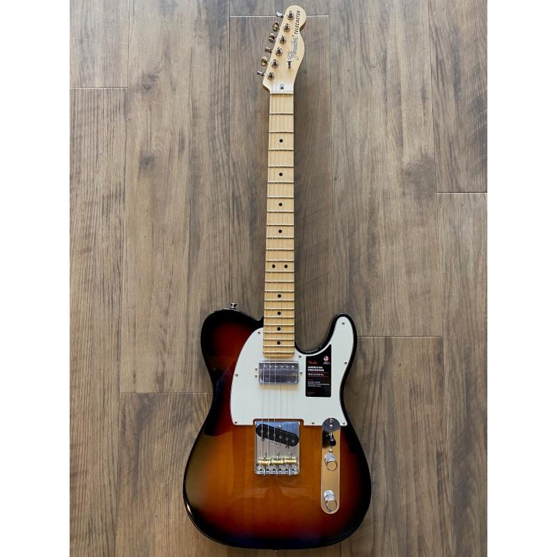 Fender American Performer Telecaster® avec Humbuking, Maple Fingerboard, 3-Color Sunburst