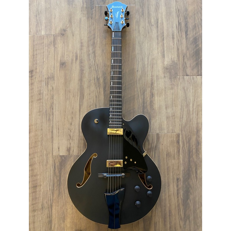 AFC125-Black Flat Archtop