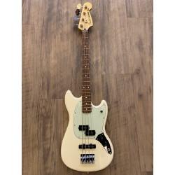 Fender Mustang® Bass PJ, Pau Ferro Fingerboard, Olympic White