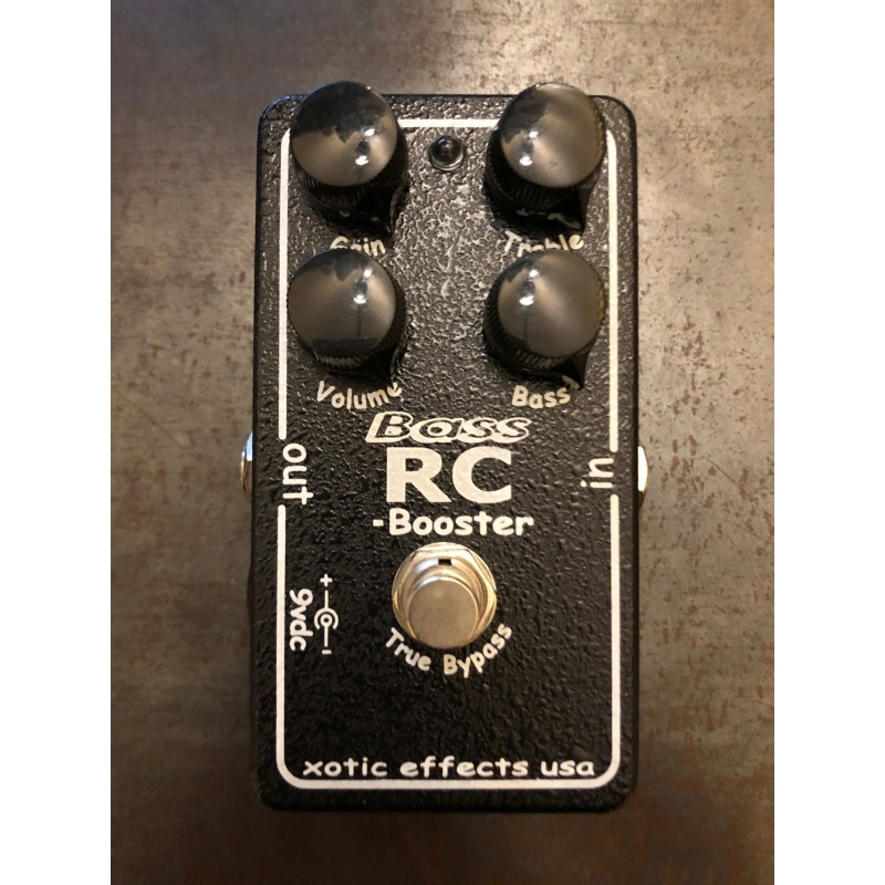 Xotic Bass RC Booster - Pédale Boost Basse