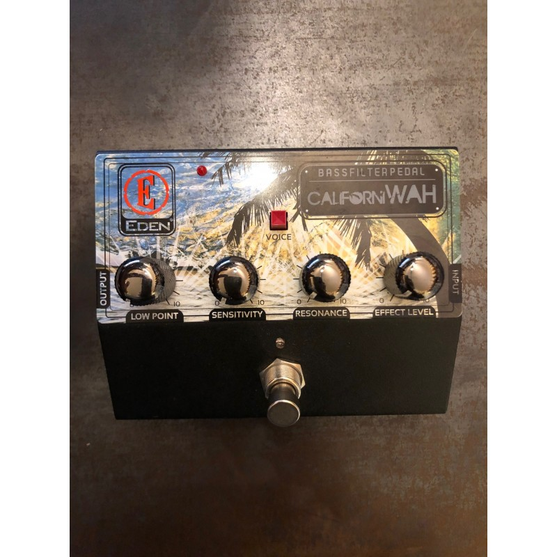 Eden Californiawah - Bass Filter Pedal