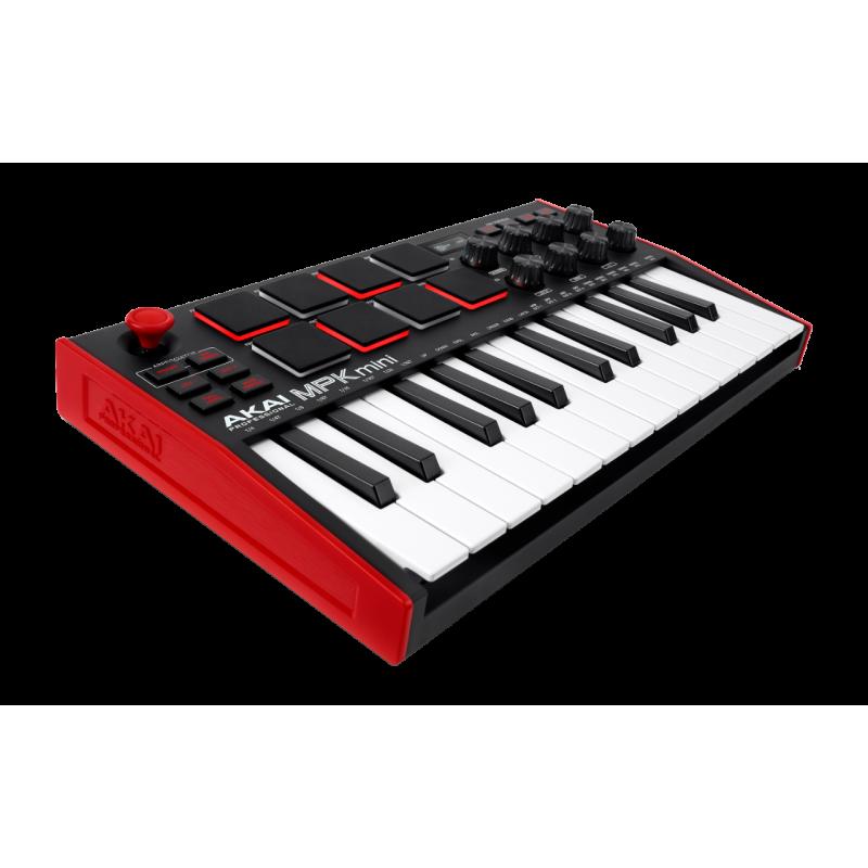 Akai MPKMINIMKIII Mini touches - USB 25 mini notes 8 pads écran OLED