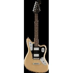 Contemporary Jaguar® HH ST, Laurel Fingerboard, Black Pickguard, Shoreline Gold