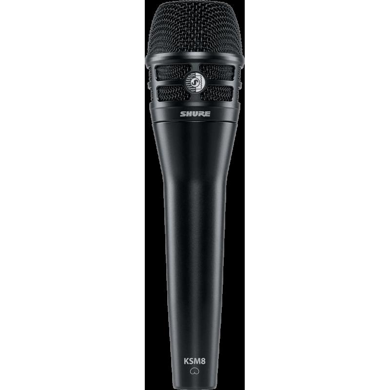 Shure KSM8-B Micro Voix Dualdyne Cardioïde Noir