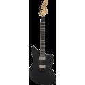 Jim Root Jazzmaster®, touche ébène, noir mat