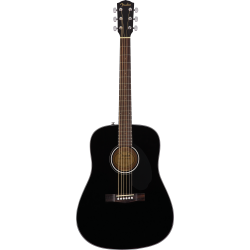 CD-60S Dreadnought, Walnut Fingerboard, Black