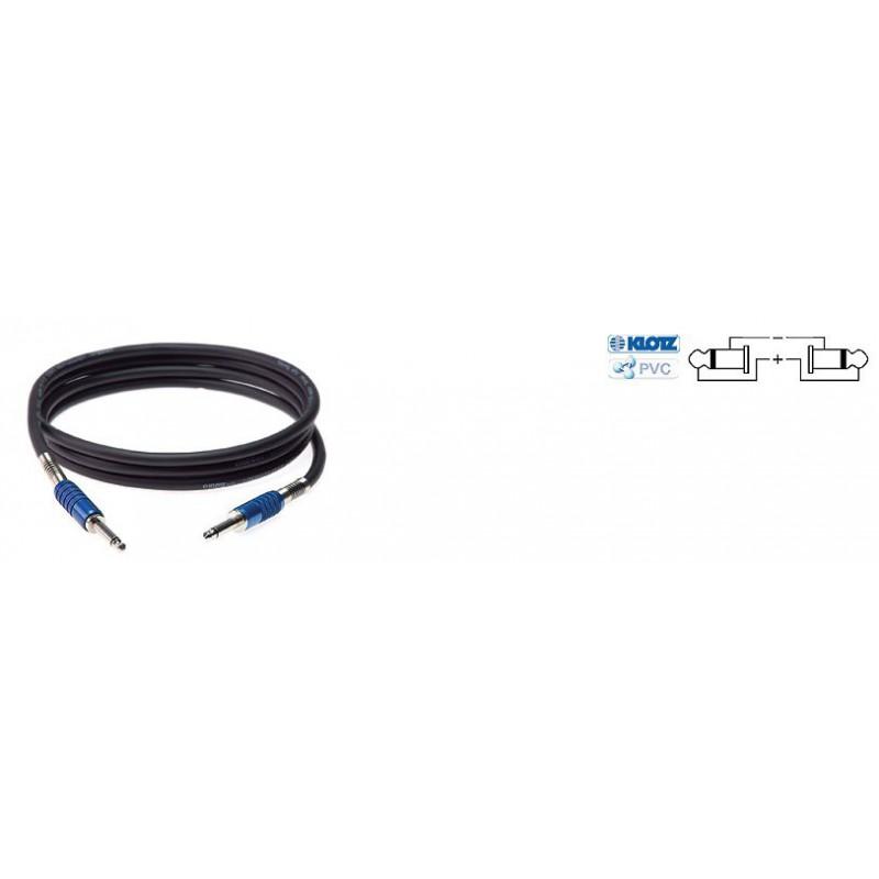 SC3PP01SW - Cable Haut parleur - Jack/Jack 2p. - 1 Mètre