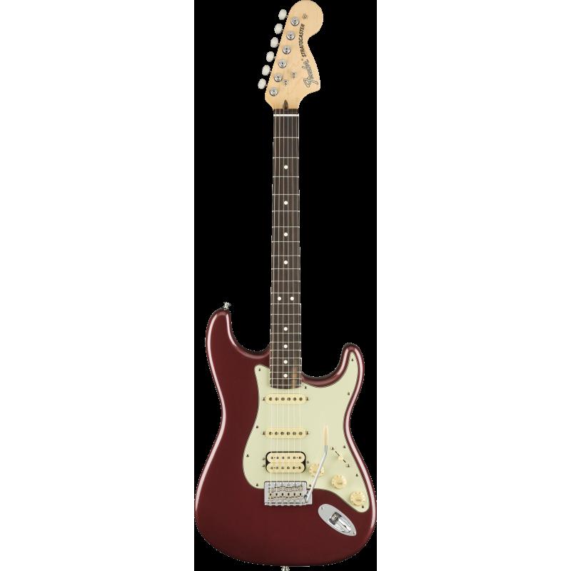 Fender American Performer Stratocaster® HSS, touche en palissandre, aubergine