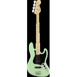 Fender American Performer Jazz Bass®, Touche en érable, Satin Surf Green