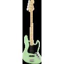 American Performer Jazz Bass®, Touche en érable, Satin Surf Green