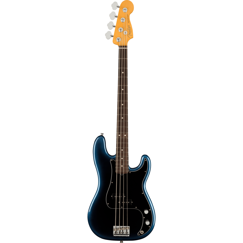 Fender American Professional II Precision Bass®, Touche en palissandre, Dark Night