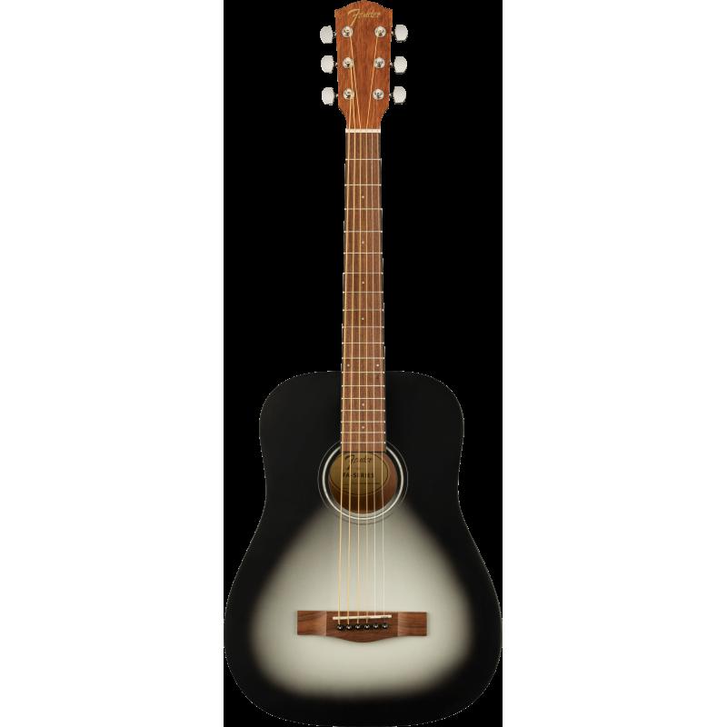 Fender FA-15 3/4 Scale Steel with Gig Bag, Walnut Fingerboard, Moonlight Burst