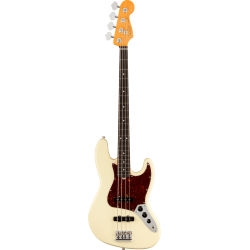 Fender American Professional II Jazz Bass®, Rosewood Fingerboard, Olympic White