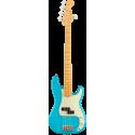 American Professional II Precision Bass® V, Maple Fingerboard, Miami Blue