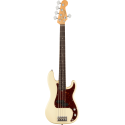 American Professional II Precision Bass® V, Rosewood Fingerboard, Olympic White