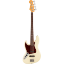 American Professional II Jazz Bass® Left-Hand, Rosewood Fingerboard, Olympic White