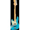 American Professional II Jazz Bass® Left-Hand, Maple Fingerboard, Miami Blue