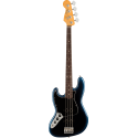 American Professional II Jazz Bass® Left-Hand, Rosewood Fingerboard, Dark Night