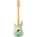 American Professional II Precision Bass® Left-Hand, Maple Fingerboard, Mystic Surf Green