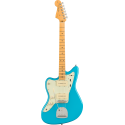American Professional II Jazzmaster® Left-Hand, Maple Fingerboard, Miami Blue