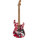 Striped Series Frankenstein™ Frankie, Maple Fingerboard, Red with Black Stripes Relic