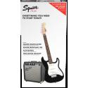 Strat® SS Pack, Rosewood Fingerboard, Black, 230V EUR