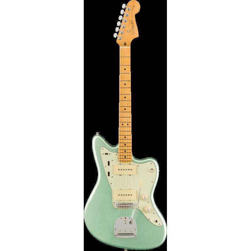 Fender American Professional II Jazzmaster®, touche en érable, Mystic Surf Green