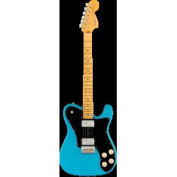 Fender American Professional II Telecaster® Deluxe, touche en érable, bleu Miami