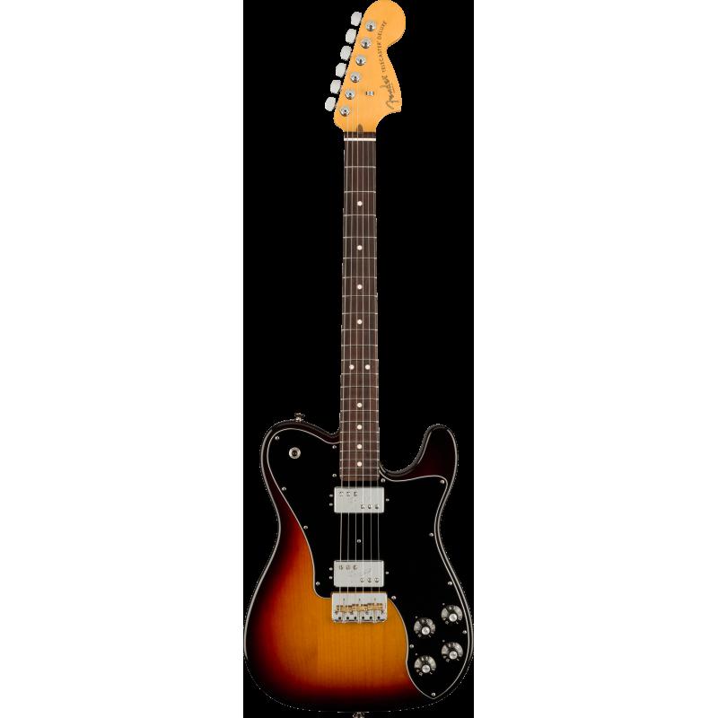 Fender American Professional II Telecaster® Deluxe, touche en palissandre, 3 couleurs Sunburst