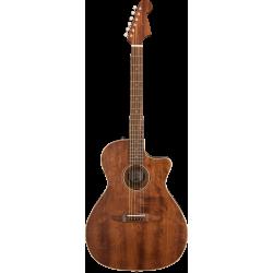 Fender Newporter Special with Gig Bag, All Mahogany, Pau Ferro Fingerboard, Natural