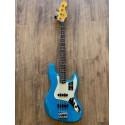American Professional II Jazz Bass®, touche en palissandre, Miami Blue