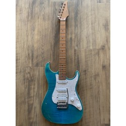 Standard Plus, Bahama Blue, Roasted Maple fingerboard, HSS, SSCII