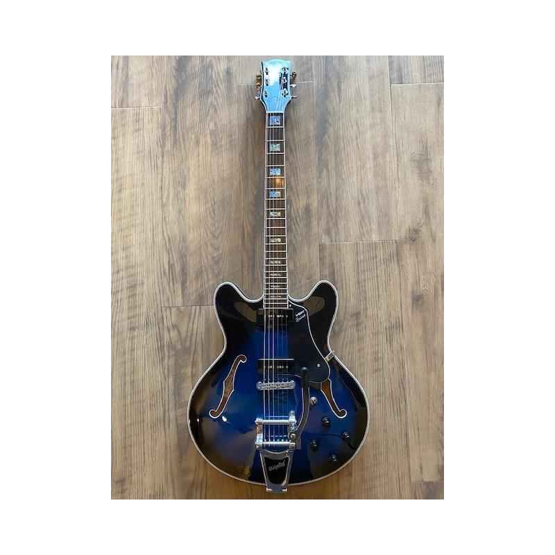 Vox Bobcat V90 Bigsby Sapphire Blue
