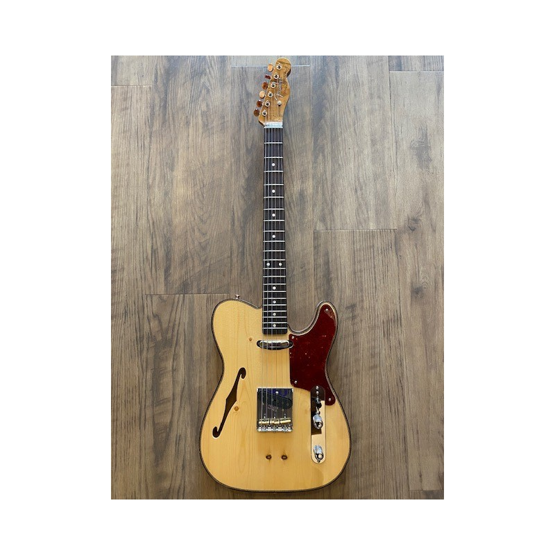 Fender Limited Edition Knotty Pine Tele® Thinline, AAA Rosewood Fingerboard, Aged Natural
