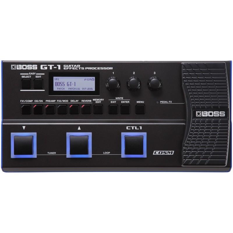 Boss GT-1 - Processeur d'effets pour guitare