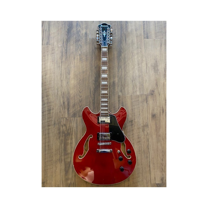 Ibanez AS7312-Transparent Cherry Red