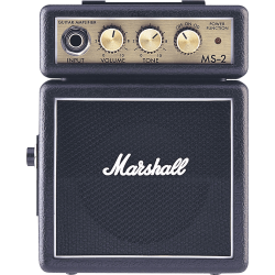 Marshall MS-2 2 W noir à piles