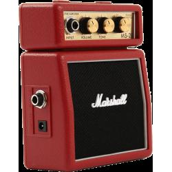 Marshall Mini-ampli MS2 Rouge 2W
