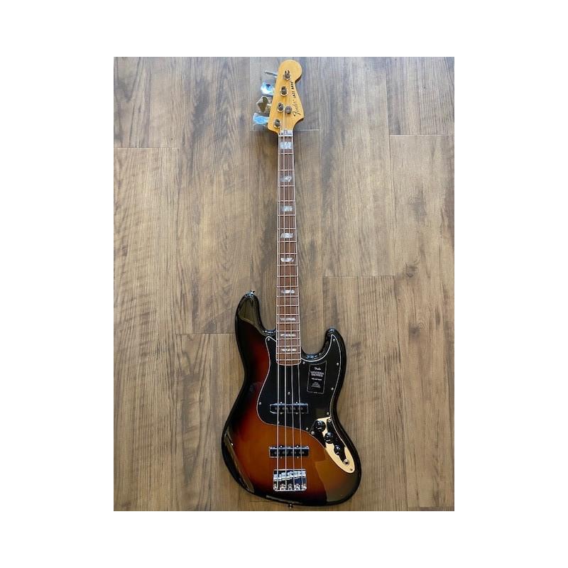 Fender Vintera® '70s Jazz Bass®, Pau Ferro Fingerboard, 3-Color Sunburst