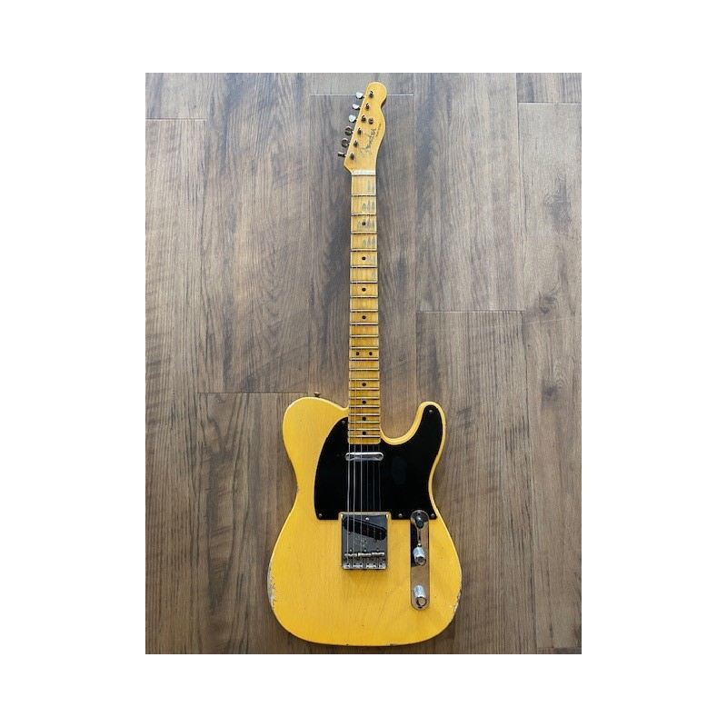 Fender Limited Edition '51 Telecaster® Relic®, Maple Fingerboard, Aged Nocaster® Blonde