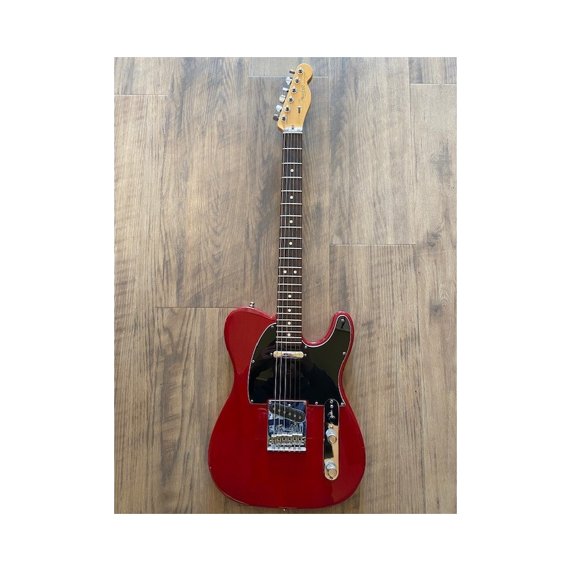 Fender Telecaster® American Standard Crimson Red Transparent