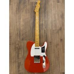 Fender Vintera® '50s Telecaster®, touche érable, rouge Fiesta