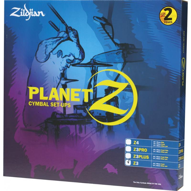 Zildjian Set Planet Z - 4 Cymbales