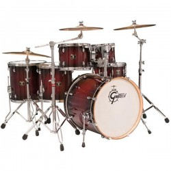 "Catalina Maple Fusion 22"" - CM-E826-DCB - Dark Cherry Burst"