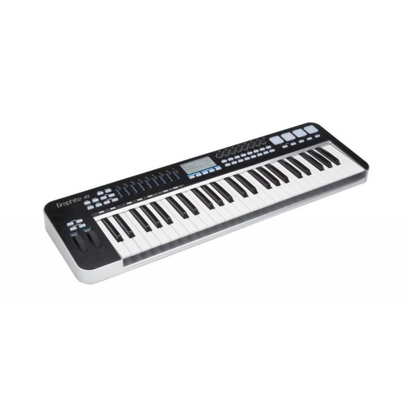 Samson Graphite 49 - USB/midi 49 notes + Komplete Elements