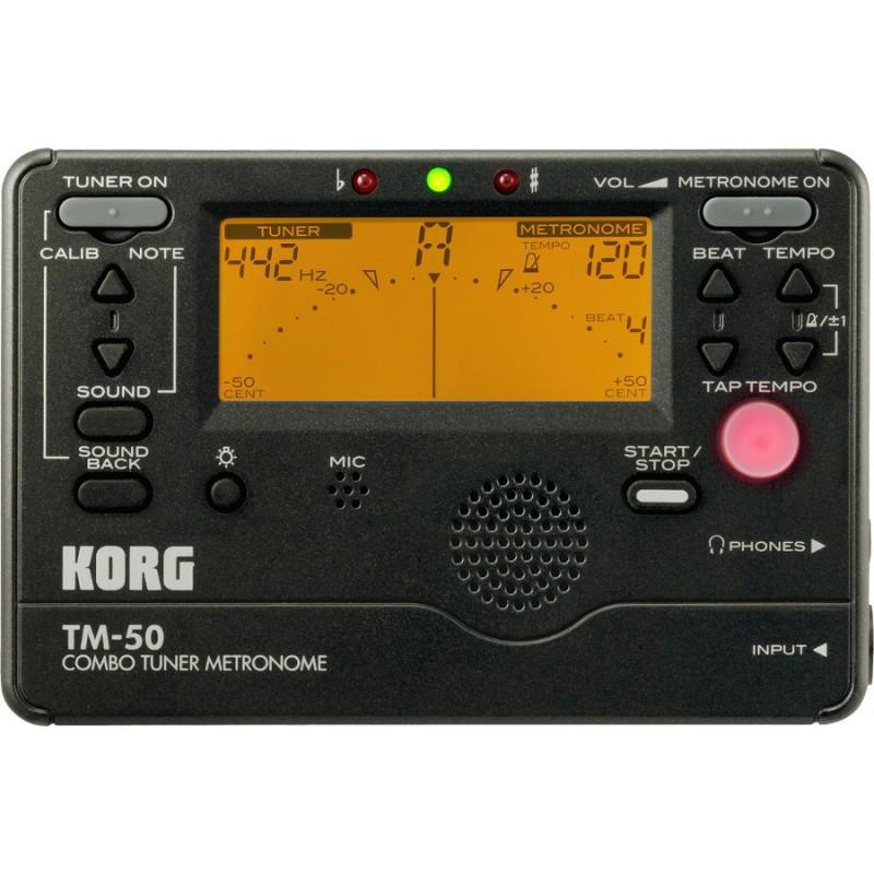 TM50-BK - Accordeur et métronome