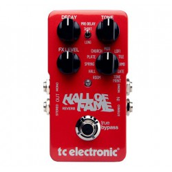TC Electronic Hall of Fame Pédale Reverbe