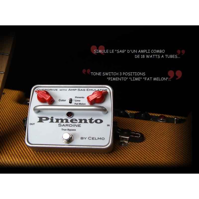 Celmo Pimento Overdrive émulateur SAG